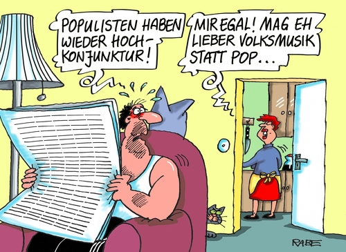 Cartoon: Populismus (medium) by RABE tagged populismus,populisten,pop,popmusik,rechte,linke,afd,rabe,ralf,böhme,cartoon,karikatur,pressezeichnung,farbcartoon,tagescartoon,volksmusik,schlager,klassik,vormarsch,braun,neonazis,pegida,populismus,populisten,pop,popmusik,rechte,linke,afd,rabe,ralf,böhme,cartoon,karikatur,pressezeichnung,farbcartoon,tagescartoon,volksmusik,schlager,klassik,vormarsch,braun,neonazis,pegida