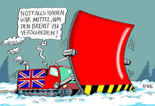 Cartoon: Verschobenes (medium) by RABE tagged brexit,eu,insel,may,britten,austritt,rabe,ralf,böhme,cartoon,karikatur,pressezeichnung,farbcartoon,tagescartoon,bauhaus,baukasten,bauklötzer,plan,referendum,februar,schnee,winter,schneepflug,schneeschieber,schneechaos,brexit,eu,insel,may,britten,austritt,rabe,ralf,böhme,cartoon,karikatur,pressezeichnung,farbcartoon,tagescartoon,bauhaus,baukasten,bauklötzer,plan,referendum,februar,schnee,winter,schneepflug,schneeschieber,schneechaos
