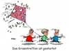 Cartoon: Krisentreffen (small) by RABE tagged krisentreffen,kanzleramt,kanzlerin,merkel,cdu,csu,spd,gabriel,seehofer,flüchtlingskrise,obergrenze,rabe,ralf,böhme,cartoon,karikatur,pressezeichnung,farbcartoon,tagescartoon,drachen,herbst,start,drachensteigen,krogo,koalition