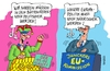 Cartoon: Närrisches (small) by RABE tagged eu,europa,brüssel,kommission,juncker,kommissionspräsident,kommisare,rabe,ralf,böhme,cartoon,karikatur,pressezeichnung,farbcartoon,tagescartoon,karneval,narren,bütt,büttenredner,elfterelfter