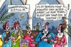 Cartoon: Sommernachtsball (small) by RABE tagged sommer,hitze,sommernacht,nacht,sommernachtsball,tanz,ball,salonorchester,rabe,ralf,böhme,cartoon,karikatur,pressezeichnung,farbcartoon,tagescartoon,palastorchester,palmen,musik,tanzmusik,tanzbein,mitternacht,vampire,blutsauger