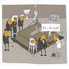 Cartoon: Schwere Last (small) by Schilling  Blum tagged schwer,sarg,beerdigung,trauer,witwer,grab,friedhof