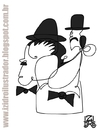 Cartoon: Laurel and Hardy (small) by izidro tagged laurel hardy