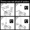 Cartoon: Spider (small) by heyokyay tagged spider,spiders,goodnight,sleeping,disgusting,afraid,scared,funny,heyokyay