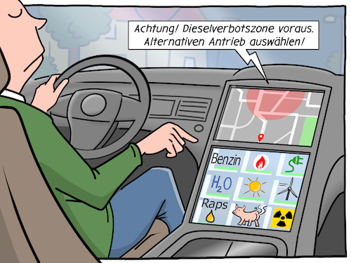 Cartoon: Das Ultra-Hybridauto (medium) by CloudScience tagged auto,mobilitaet,emobility,elektroauto,dieselskandal,diesel,elektroantrieb,benzin,antrieb,energie,umwelt,hybrid,fahrzeug,oekostrom,fahren,auofahrer,dieselverbot,dieselverbotszone,fahrverbot,fahrverbotszone,automobil,verkehr,automobilhersteller,automobilindustrie,alternative,zukunft,trend,digitalisierung,digital,technik,technologie,tech,illustration,moeller,auto,mobilitaet,emobility,elektroauto,dieselskandal,diesel,elektroantrieb,benzin,antrieb,energie,umwelt,hybrid,fahrzeug,oekostrom,fahren,auofahrer,dieselverbot,dieselverbotszone,fahrverbot,fahrverbotszone,automobil,verkehr,automobilhersteller,automobilindustrie,alternative,zukunft,trend,digitalisierung,digital,technik,technologie,tech,illustration,moeller