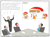 Cartoon: Amazon Weihnachten (small) by CloudScience tagged amazon,weihnachten,kommerz,logistik,pakete,online,shopping,jeff,bezos,weihnachtsmann,paket,bestellung,shoppen,einkaufen,xmas,shop,lieferung,digitalisierung,digital,zukunft,handel,nikolaus,heiligabend,meeting,marketing,internet,waren,weihnachtsgeschaeft,feiertage,cartoon,disruption,moeller,tradition,brauch,sitte,wirtschaft,business