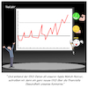 Cartoon: Apple Watch EKG (small) by CloudScience tagged apple,iwatch,watch,tim,cook,app,it,iphone,smartphone,smart,praesentation,vorstellung,konzern,ekg,wearable,gesundheit,ueberwachung,nutzer,health,finance,finanzen,umsatz,gewinn,digitalisierung,digital,show,buehne,business,technologie,uhr,tech,überwachung,daten,datenschutz,gesundheitsdaten,messen,monitoring,armband