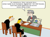 Cartoon: digitaler Nachlassverwalter (small) by CloudScience tagged erbe