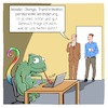 Cartoon: Veränderung (small) by CloudScience tagged veränderung,transformation,change,wandel,disruption,new,work,arbeit,digitalisierung,digital,arbeitsmarkt,zukunft,chameleon,flexible,management,it,business,büro,office,hr,agil,agilität,globalisierung,tech,technik,technologie,unternehmenskultur