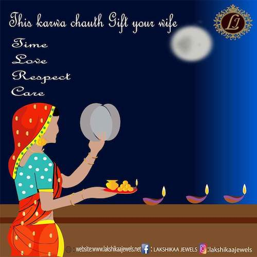 Cartoon: karwa chauth poster (medium) by anupama tagged cartoon