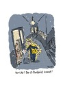 Cartoon: E-Postbrief (small) by Bettina Bexte tagged post,brief,epostbrief,postbote,brieftraeger,kommunikation