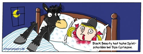 Cartoon: Schoolpeppers 49 (medium) by Schoolpeppers tagged pate,mafia,tiere