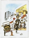 Cartoon: museo (small) by DANIEL EDUARDO VARELA tagged ford