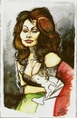 Cartoon: sofia loren (small) by DANIEL EDUARDO VARELA tagged donna