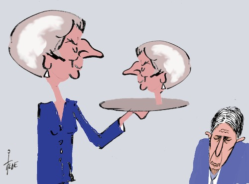 Cartoon: ohne Worte (medium) by tiede tagged hamlet,theresa,may,brexit,tiede,cartoon,karikatur,hamlet,theresa,may,brexit,tiede,cartoon,karikatur