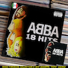 Cartoon: Abba - 18 Hits (small) by Peps tagged abba,18,hits
