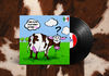 Cartoon: Pink Floyd Atom Heart parody (small) by Peps tagged cow,pinkfloyd,pink,landscape,comics,question,vache