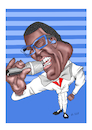 Cartoon: Alphonso Williams (small) by Thomas Vetter tagged alphonso,williams,dsds