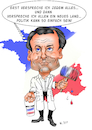 Cartoon: Emmanuel Macron (small) by Thomas Vetter tagged emmanuel,macron