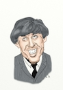 Cartoon: George Harrison (small) by Thomas Vetter tagged george,harrison