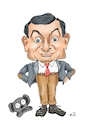 Cartoon: Happy Birtday Rowan Atkinson (small) by Thomas Vetter tagged rowan,atkinson