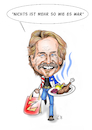 Cartoon: Happy Birthday Frank Zander! (small) by Thomas Vetter tagged frank,zander