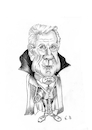 Cartoon: Leslie Nielsen (small) by Thomas Vetter tagged leslie,nielsen