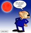 Cartoon: Berlusconi and the red Moon (small) by Ludus tagged moon,berlusconi