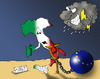 Cartoon: Politic situation in Italy (small) by Ludus tagged italy,ue