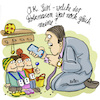 Cartoon: siritation (small) by REIBEL tagged smartphone,digitaler,assistent,siri,kindergarten,vater,gesicht,erkennung