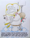Cartoon: beziehungskisten ... (small) by katzen-gretelein tagged hahn,toilette,ehe