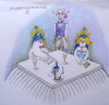 Cartoon: hotel dracula ... (small) by katzen-gretelein tagged gastronomie,horror