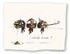 Cartoon: Und nun ? (small) by OTTbyrds tagged new,year,hangover,silvester,neujahr,kater,feste,chrismas,weihnachten,ottbyrds,schägevögel
