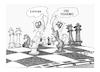 Cartoon: CHESS (small) by vasilis dagres tagged peace