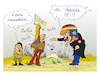 Cartoon: MERKEL  VISIT IN GREECE (small) by vasilis dagres tagged greece,merkel,germany