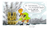 Cartoon: NO comments. (small) by vasilis dagres tagged macron,france,paris,disaster,monuments