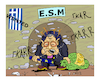 Cartoon: Regling Greece (small) by vasilis dagres tagged regling,greece,european,union