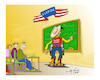Cartoon: teather kow boy (small) by vasilis dagres tagged culture,for,the,school,war,arms