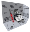 Cartoon: Kleine Spende (small) by Lo Graf von Blickensdorf tagged star,wars,luke,skywalker,jedi,ritter,darth,vader,krieg,der,sterne,george,lucas,sith,ewoks,böse,guter,zweck,betteln,schnorren,straßenecke,armut,film,science,fiction,karikatur,lo,cartoon,lichtschwert,laserschwert,schild,droide,prinzessin,leia