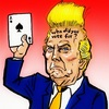 Cartoon: Donald John Trump (small) by takeshioekaki tagged trump