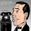 Cartoon: Haruki Murakami (small) by takeshioekaki tagged nobel,prize