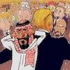 Cartoon: Khashoggi (small) by takeshioekaki tagged khashoggi