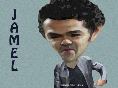 Cartoon: jamel debbouze (medium) by MFOURGON tagged debbouze,jamel