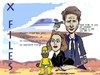 Cartoon: David duchovny (small) by MFOURGON tagged actor