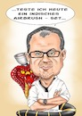 Cartoon: Roger Hassler (small) by Thomas Vetter tagged karikatur