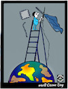 Cartoon: World Ozone Day (small) by APPARAO ANUPOJU tagged ozone,day
