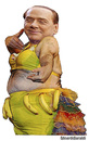 Cartoon: berlusconi (small) by edoardo baraldi tagged premier,2013,berlusconi