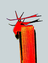 Cartoon: Feuer und Falmme (small) by herranderl tagged waldbrand