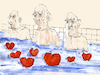 Cartoon: nachmittags am Pool (small) by herranderl tagged afternoon,pool