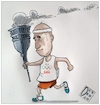 Cartoon: Olimpiadi torino (small) by Christi tagged olimpiadi,torino,appendino